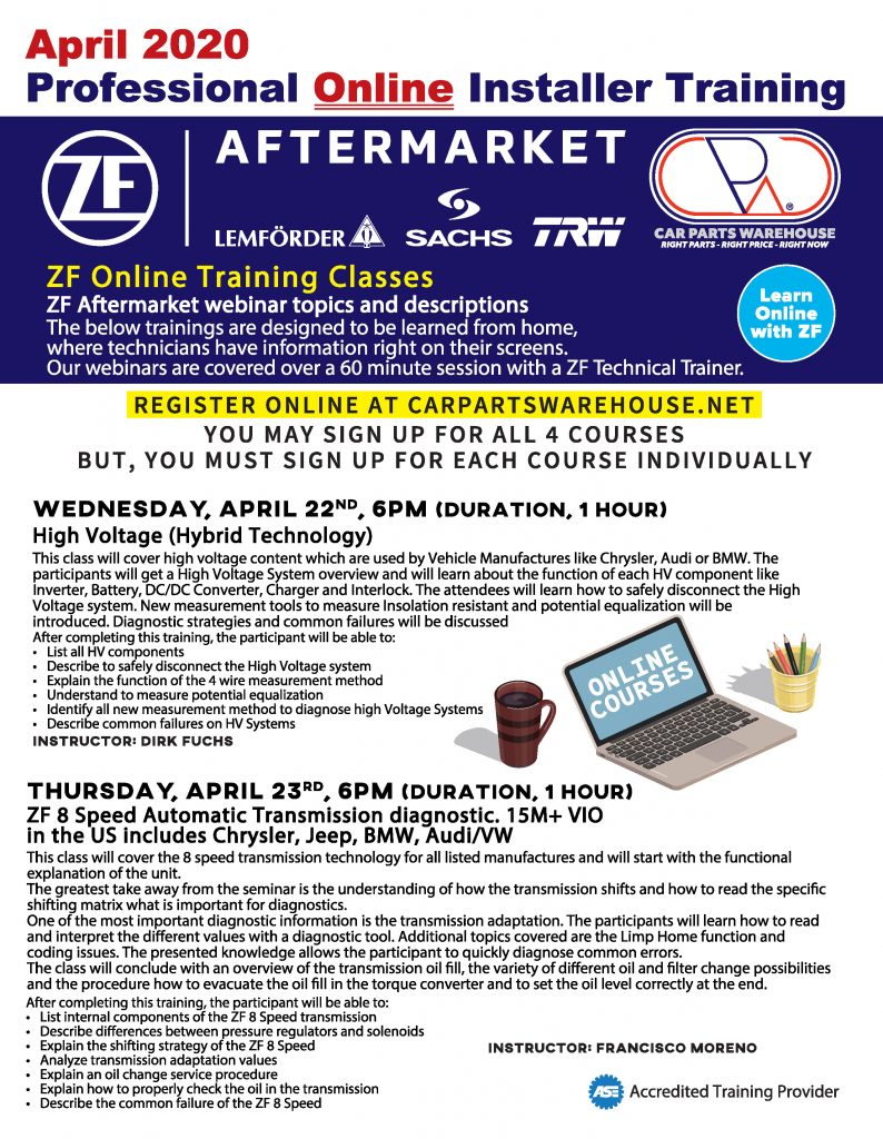 https://carpartswarehouse.net/wp-content/uploads/2020/04/Infosheet_ZF_Online_Installer_Training_B_4.2020-794x1024.jpg
